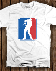 NBA Hopper Logo White