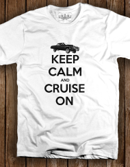 Cruise On White