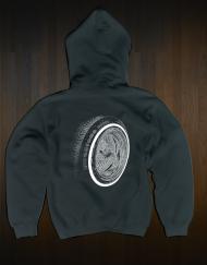 Hoodie Wheel Back